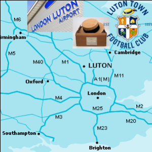 HA Field Trip Luton map