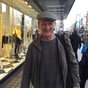 Flat cap on Oxford St