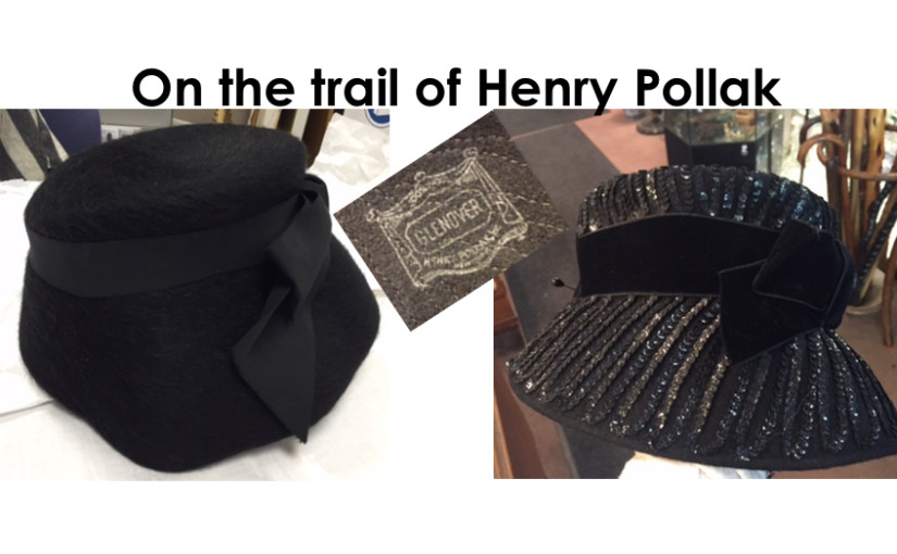 The Hat Detective – on the trail of Henry Pollak