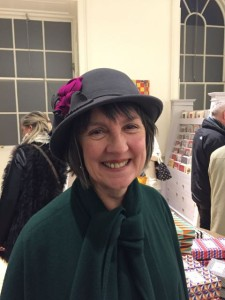 Somerset Lady in Grey hat