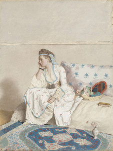Jean-Étienne Liotard - Portrait of Marie Fargues, in Turks costume