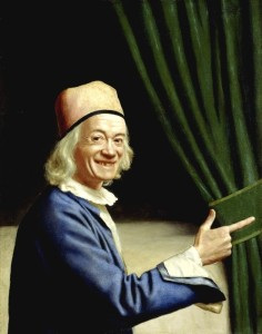 Jean-Etienne Liotard Laughing Self Portrait