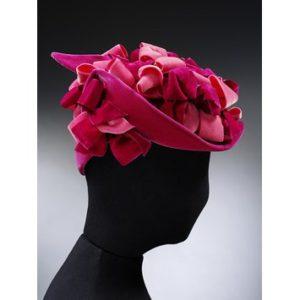 Aage Thaarup in V&A pink velvet