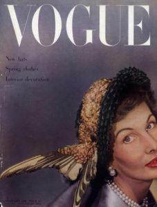 Vogue cover feb 1949