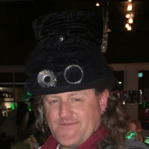5dc6fb841eab It was my good fortune to be in Hasting when there was a Steam Punk event.  Steam Punk folks do amazing costume. A velvet top hat with goggles and  feathers, ...