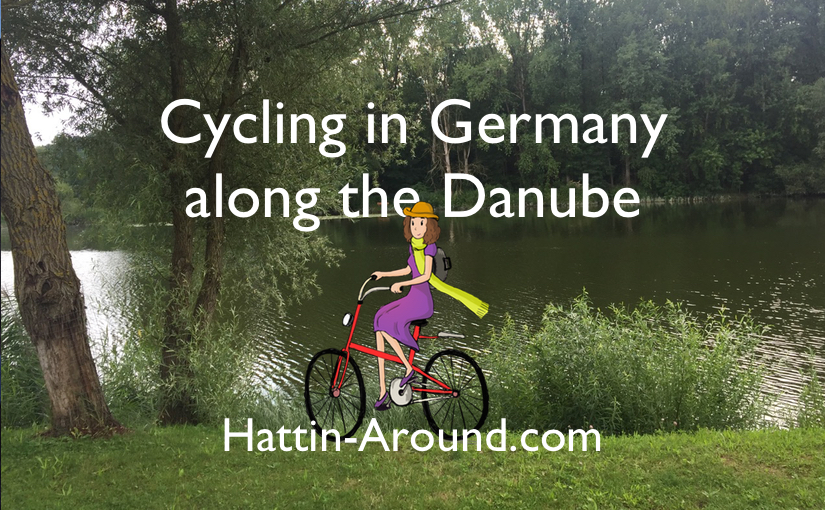 Cycling in Germany along the Danube