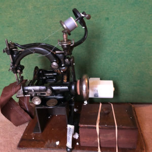 Willcox and Gibbs S200 Straw plait sewing machine