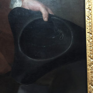 Tricorne in art at National Gallery